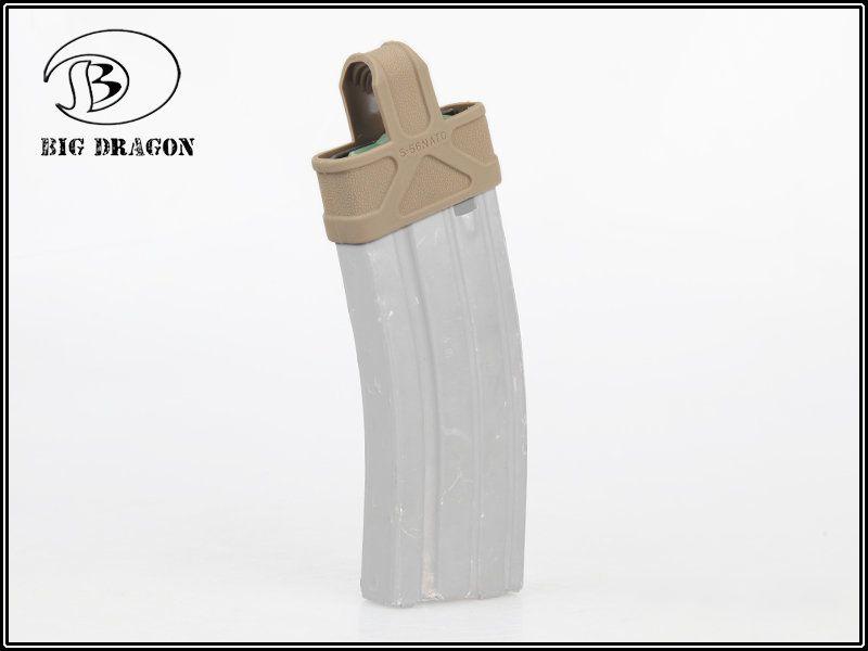 Fast Mag M4/M16 - Alça para magazine - 5.56 Cor: Preto  - MAB AIRSOFT