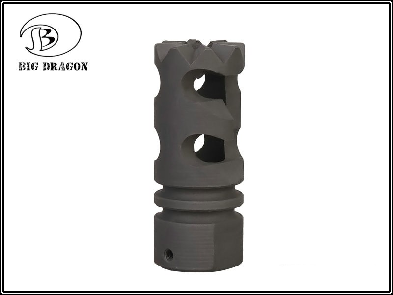 Flash Hider Steel 7 (DNTC Aggressive)