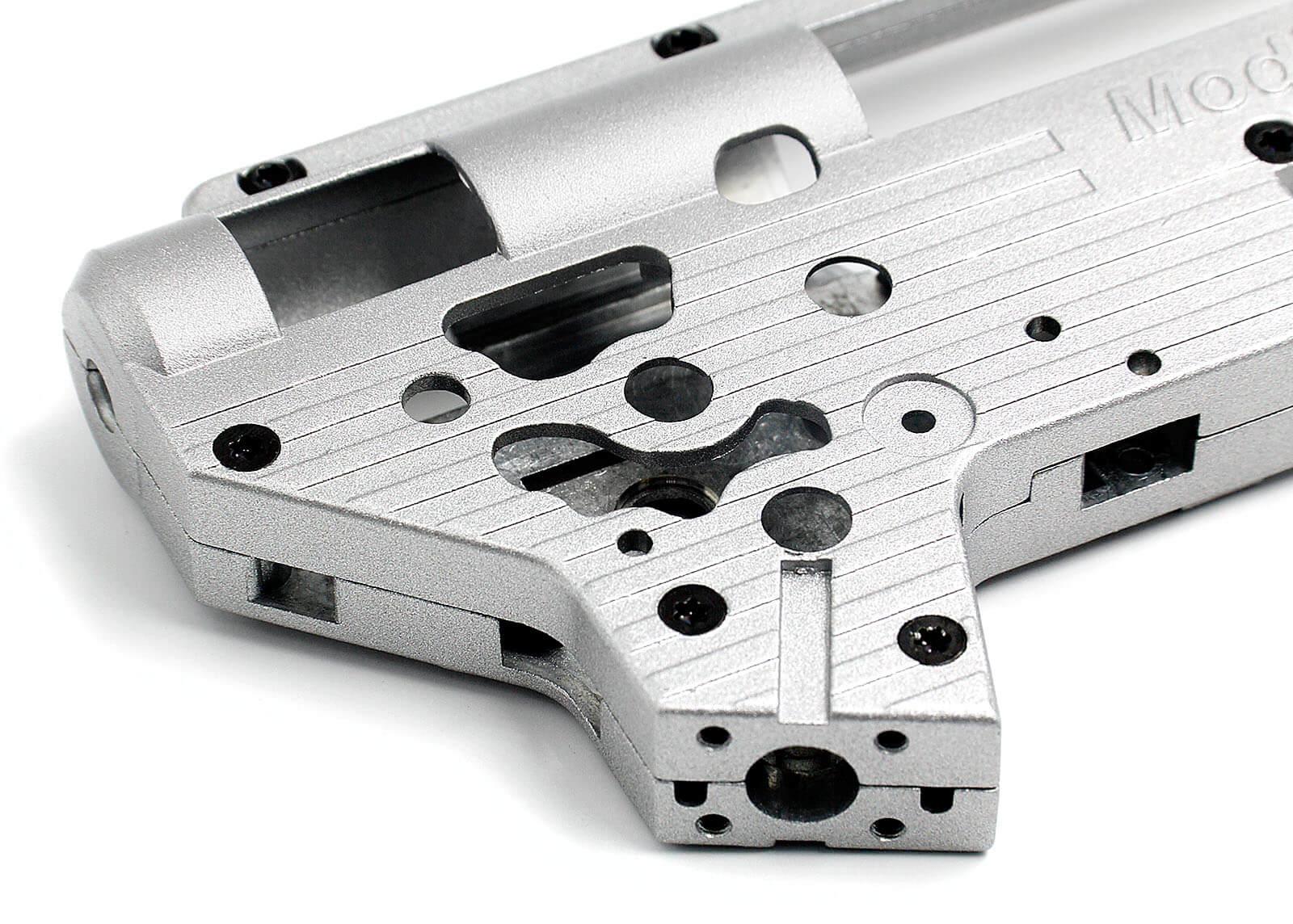 Gearbox Modify Reforçada V2 com Tappet Plate - Rolamento 8 mm  - MAB AIRSOFT
