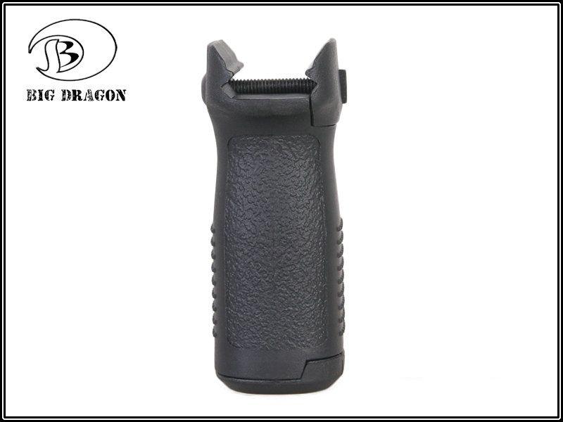 Grip Vertical em Polímero Emerson (S) - Cor Preta  - MAB AIRSOFT