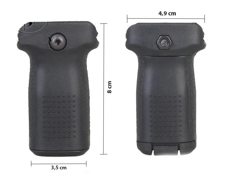 Grip Vertical em Polímero Emerson (S) - Cor: TAN  - MAB AIRSOFT