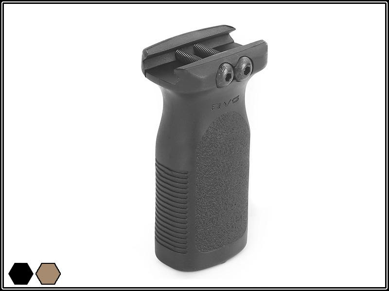 Grip Vertical Magpul MOE RVG - Black  - MAB AIRSOFT