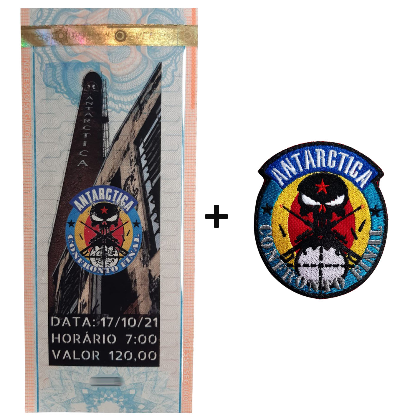 INGRESSO: Operação Antárctica - Confronto Final  - MAB AIRSOFT