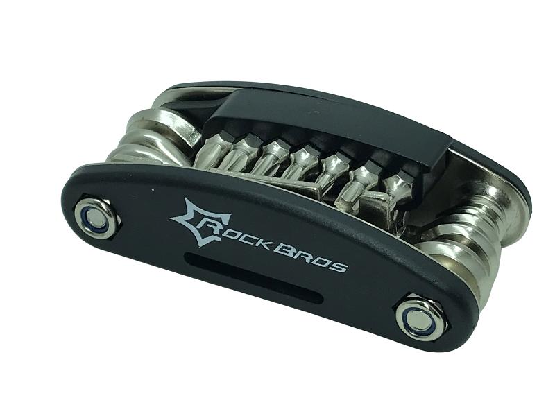 Kit Chave Bike Rockbros 16 em 1 (GJ8002)  - MAB AIRSOFT