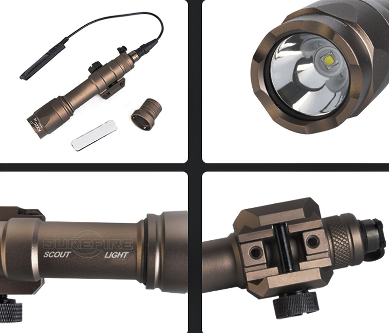 Lanterna Element  Surefire M600C Scoutlight Led Full Version Bronze  - MAB AIRSOFT