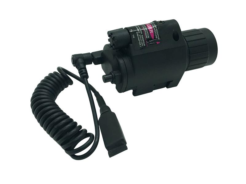 Lanterna QD M6 Pistola/Rifle com Laser e Acionamento Remoto #  - MAB AIRSOFT