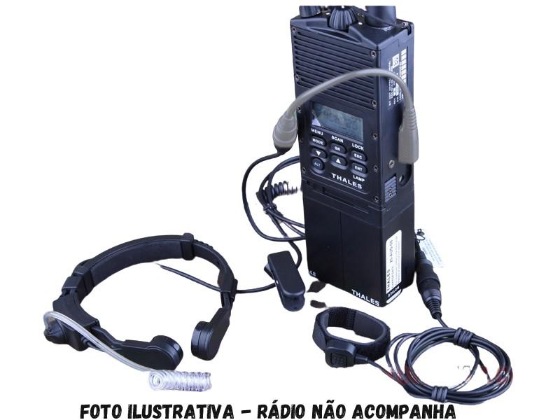 Laringo Fone para Rádio HT Baofeng  - MAB AIRSOFT
