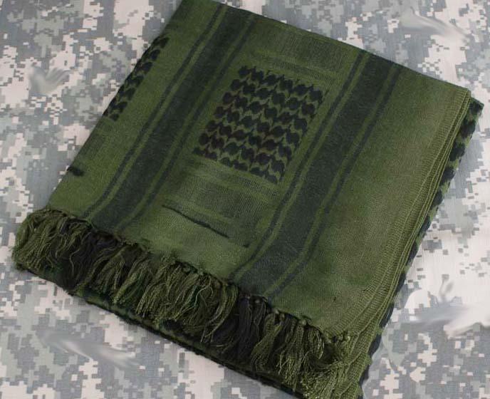Lenço Shemagh Cor: Verde  - MAB AIRSOFT