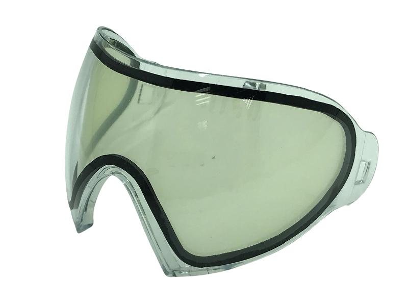 Lente dupla Thermal ante embaçante transparente para Máscara FMA F1  - MAB AIRSOFT