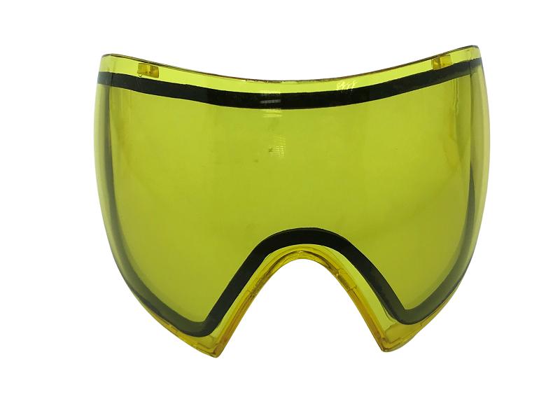 Lente dupla Thermal ante embaçante amarela para Máscara FMA F1