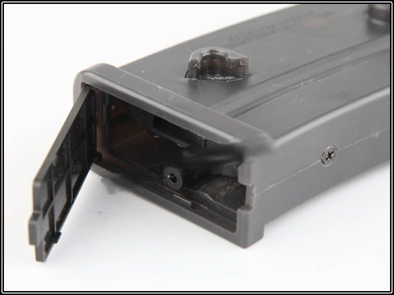 Magazine Hi-cap plástico G36 - 450 BBs  - MAB AIRSOFT