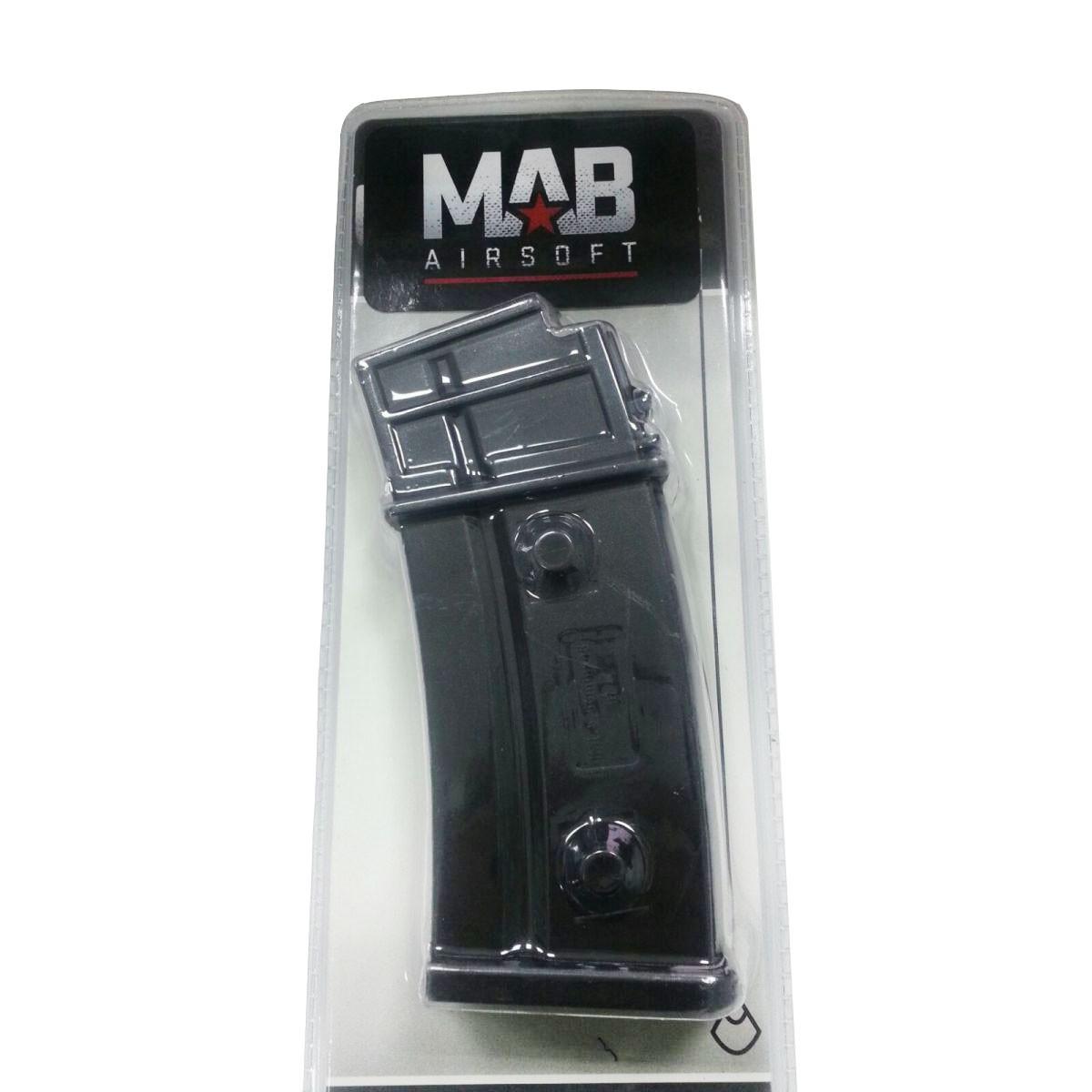 Magazine Hi-cap plástico G36 - 450 BBs