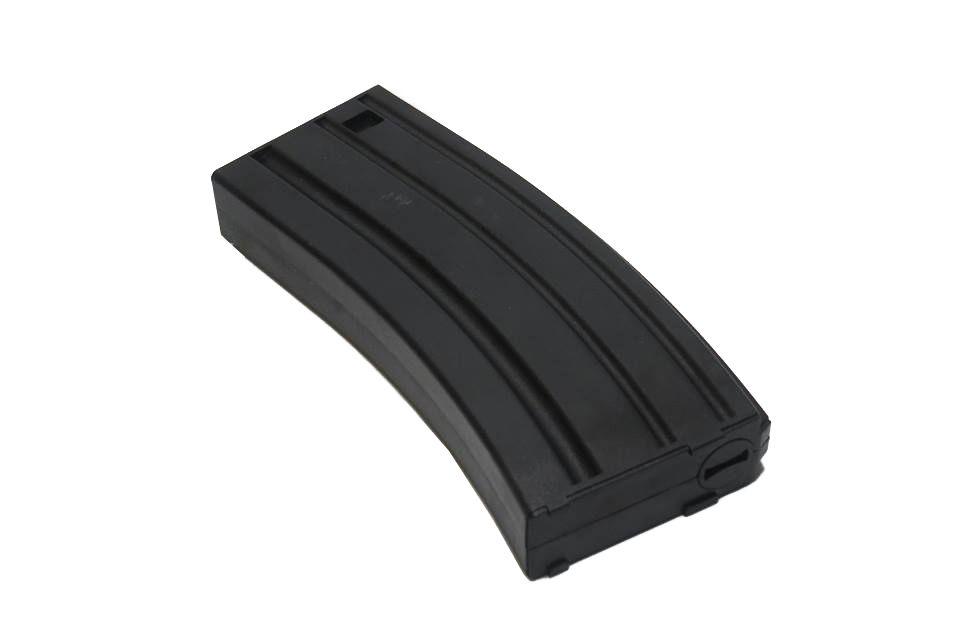 Magazine Plástico SRC Mid-cap M4/M16 140BBs (cor: Preta)  - MAB AIRSOFT