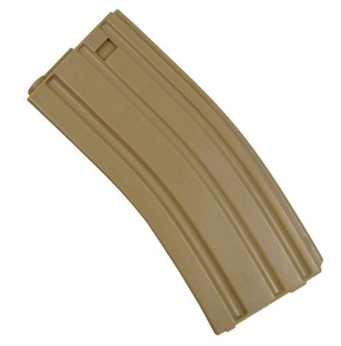 Magazine Plástico SRC Mid-Cap M4/M16 140BBs (cor: TAN)