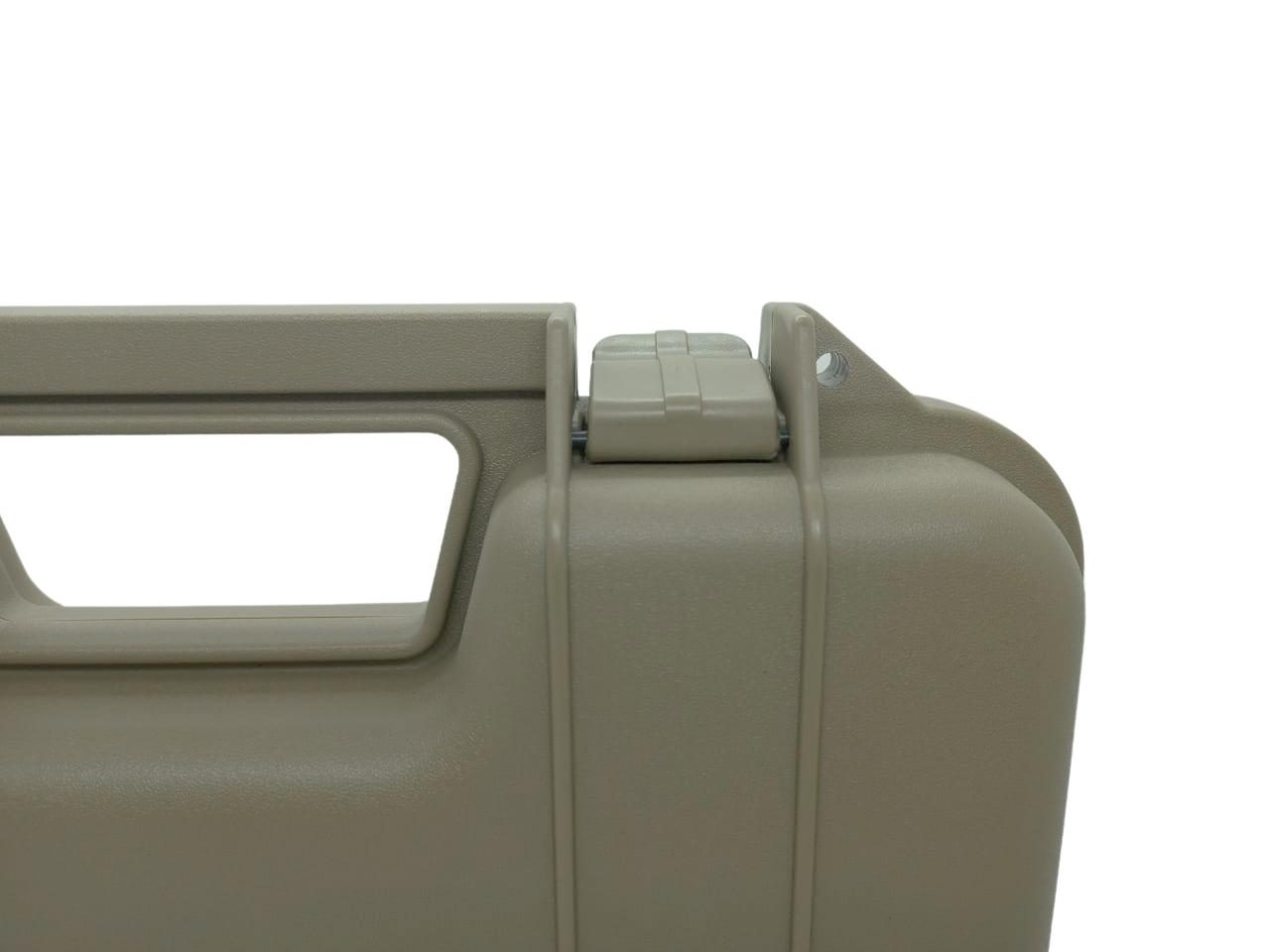 Maleta Plástica para Pistola - Cor: TAN  - MAB AIRSOFT