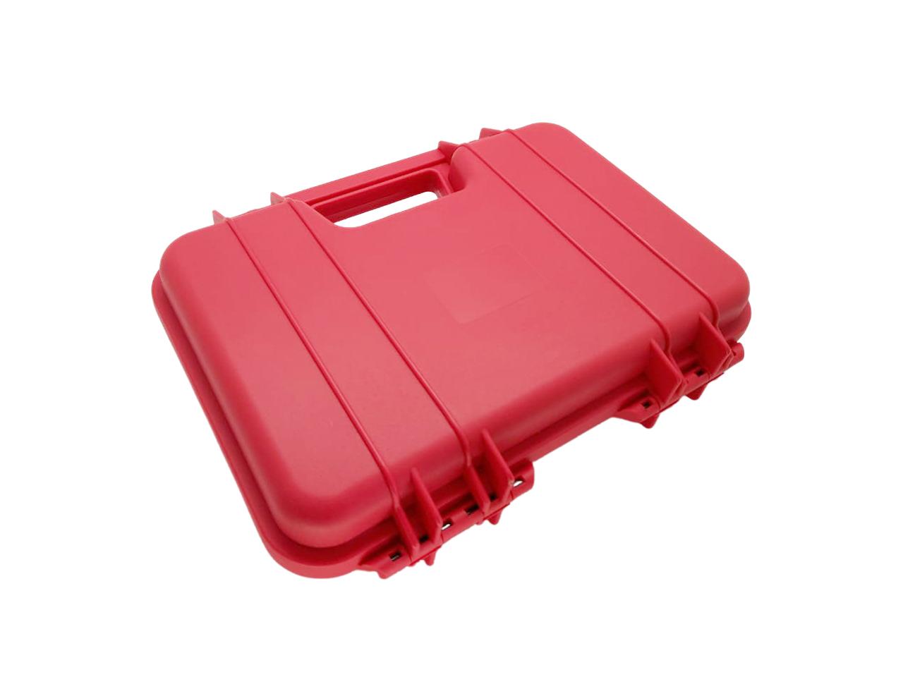 Maleta Plástica para Pistola - Cor: Vermelha  - MAB AIRSOFT