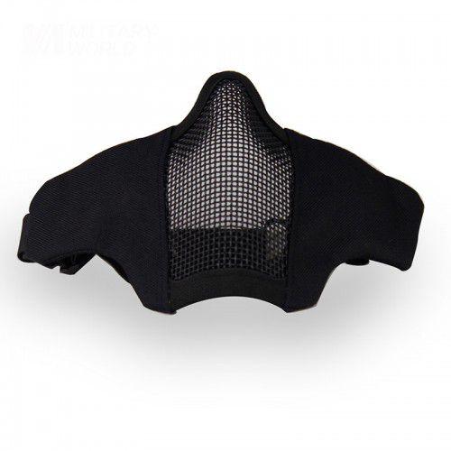 Mascara de Proteção Meia Face Confort - Black
