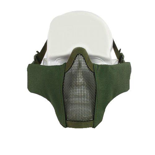 Mascara de Proteção Meia Face Confort - Black   - MAB AIRSOFT