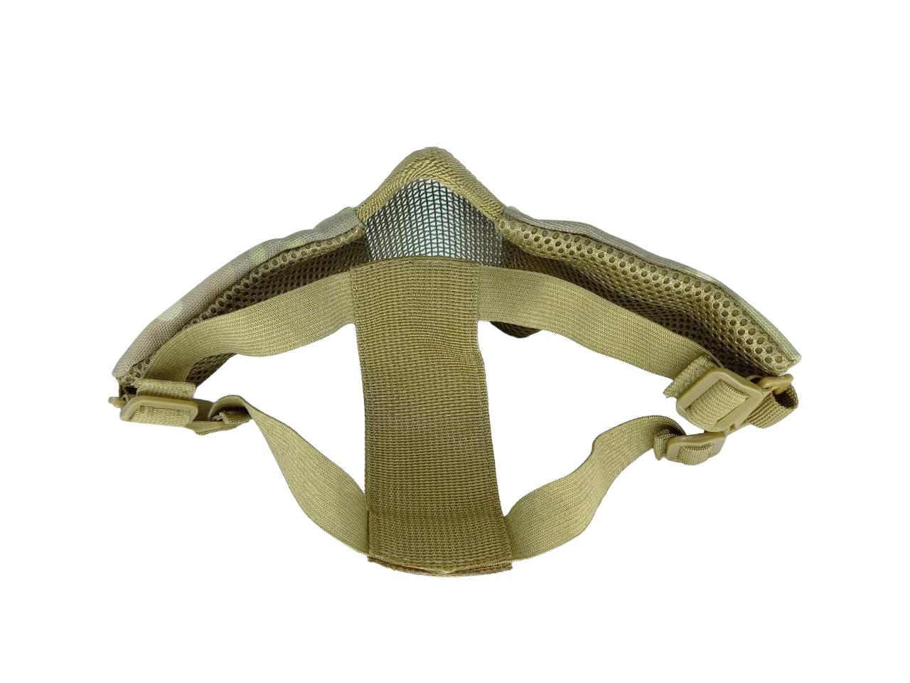 Mascara de Proteção Meia Face Confort - Multicam   - MAB AIRSOFT