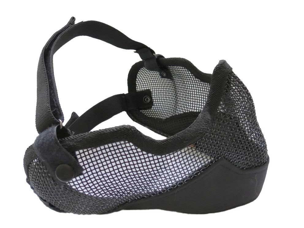 Mascara Proteção (boca/nariz/orelha) - Cor: Preta *C*-  - MAB AIRSOFT