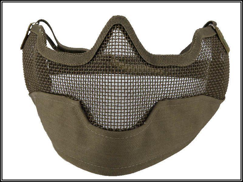 Mascara Proteção (boca/nariz/orelha) - Cor: Verde  - MAB AIRSOFT