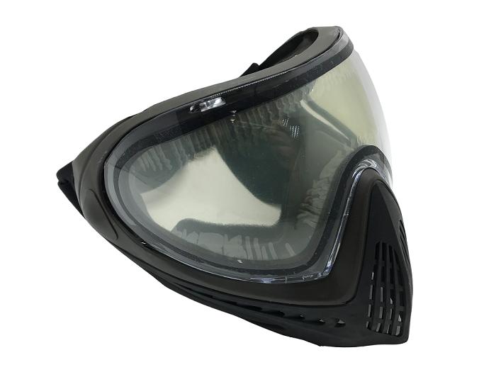 Máscara Proteção FM-F0018 Preta (Airsoft / Paintball)  - MAB AIRSOFT