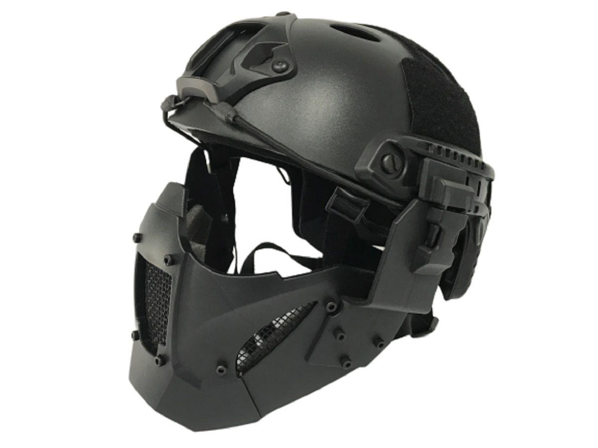 Mascara Proteção TMC JAY FAST FJA Black  - MAB AIRSOFT