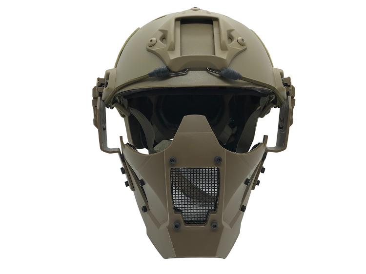 Mascara Proteção TMC JAY FAST FJA TAN  - MAB AIRSOFT