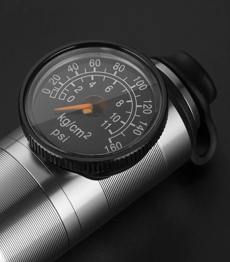 Mini Bomba de pneu para bicicleta Rockbros - HQ-67A-L03  - MAB AIRSOFT
