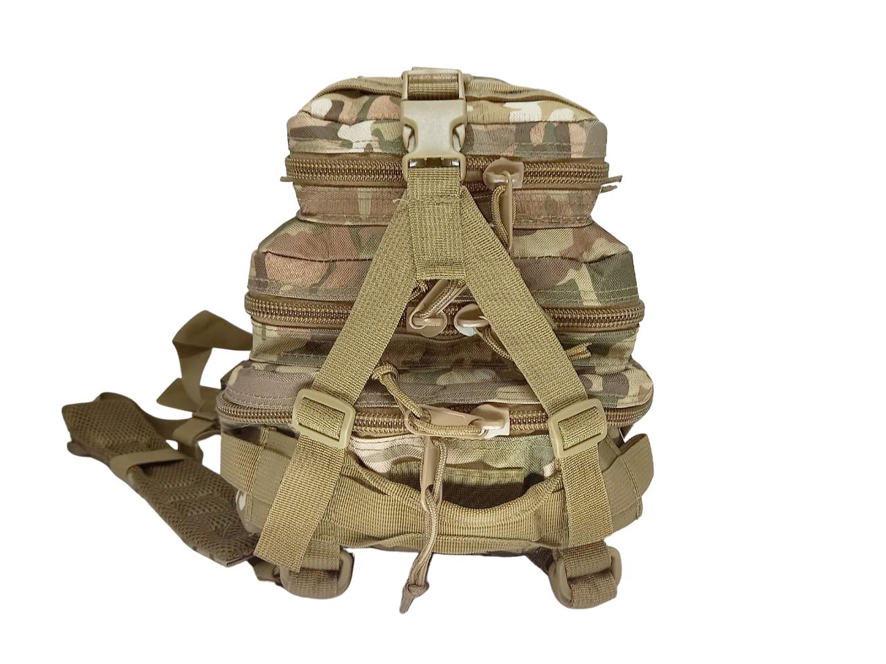 Mochila Tatica Militar Cordura 30 L - Cor: Multicam  - MAB AIRSOFT