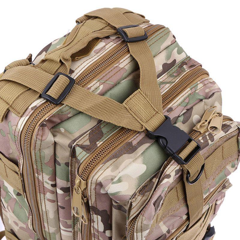 Mochila Tatica Militar Cordura 30 L - Cor: TAN  - MAB AIRSOFT