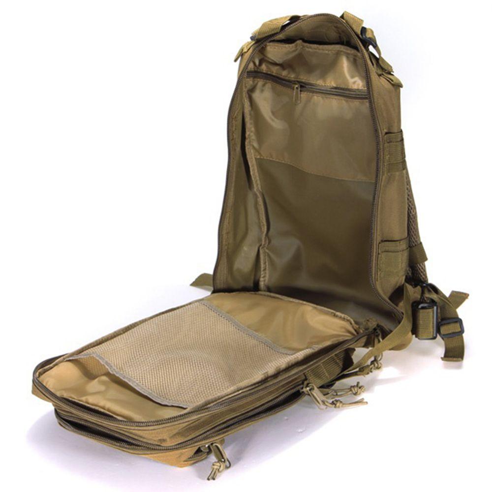 Mochila Tatica Militar Cordura 30 L - Cor: Verde  - MAB AIRSOFT