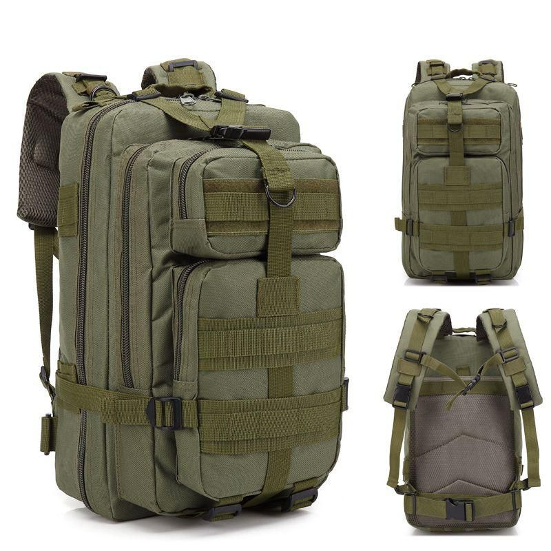 Mochila Tatica Militar Cordura 45 L - Cor: Verde  - MAB AIRSOFT