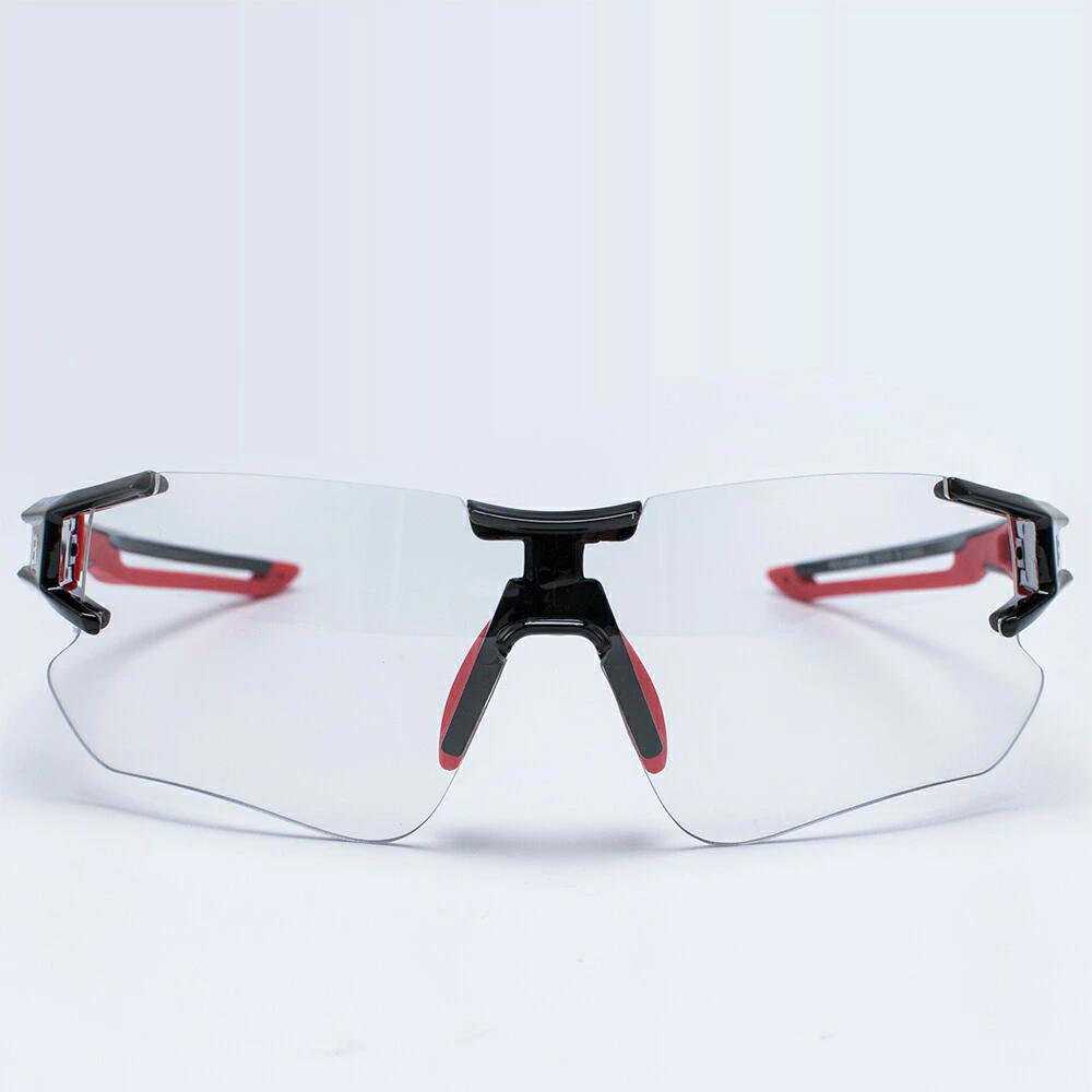 Óculos Bicicleta Foto cromático Rockbros RB-10125 (Preto/Vermelho)  - MAB AIRSOFT