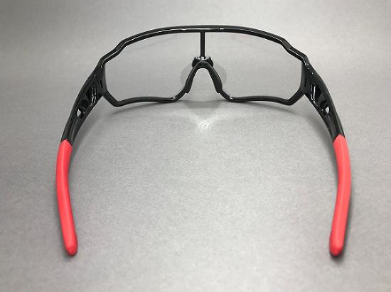 Óculos Bicicleta Foto cromático Rockbros RB-10161 (Preto/Vermelho)  - MAB AIRSOFT