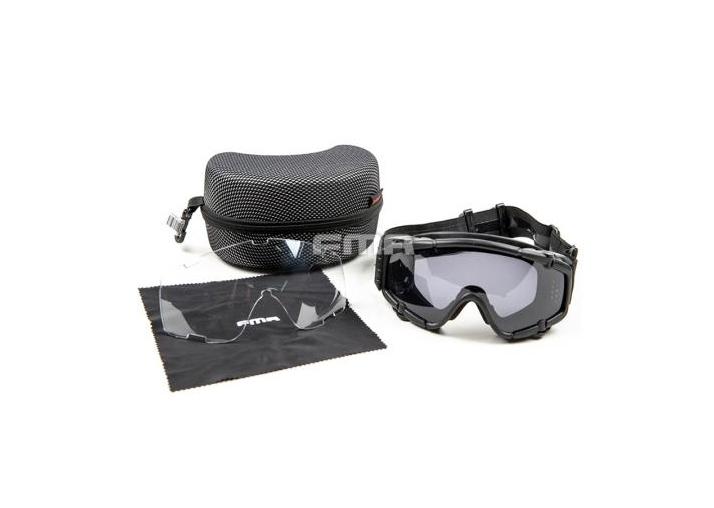 Óculos de Proteção FMA - TB886 com Cooler Black