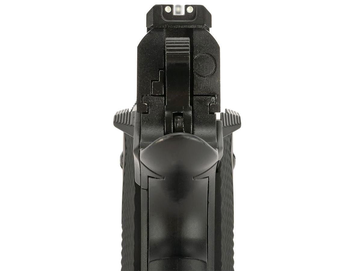 Pistola Airsoft WE 1911 Gen. 2 GBB Full Metal Preta - Calibre 6 mm  - MAB AIRSOFT