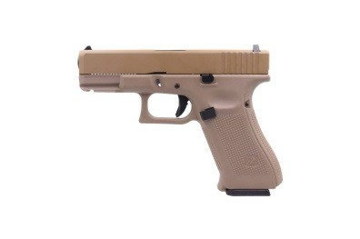 Pistola Airsoft WE Glock G19X Gen 5 GBB Metal e Polimero TAN/TAN - Calibre 6 mm #