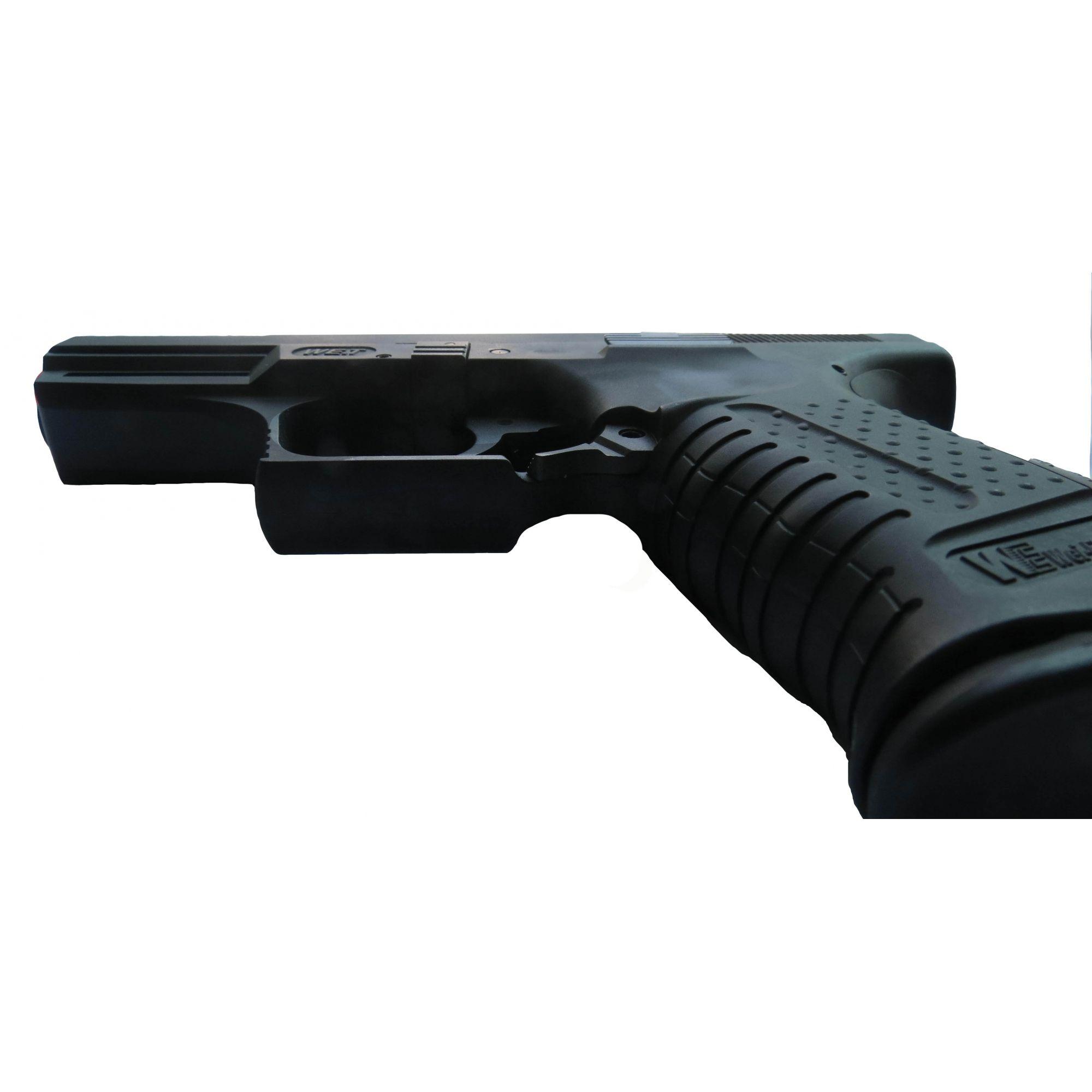 Pistola Airsoft WE TTI God of War GBB Full Metal Preta - Calibre 6 mm  - MAB AIRSOFT