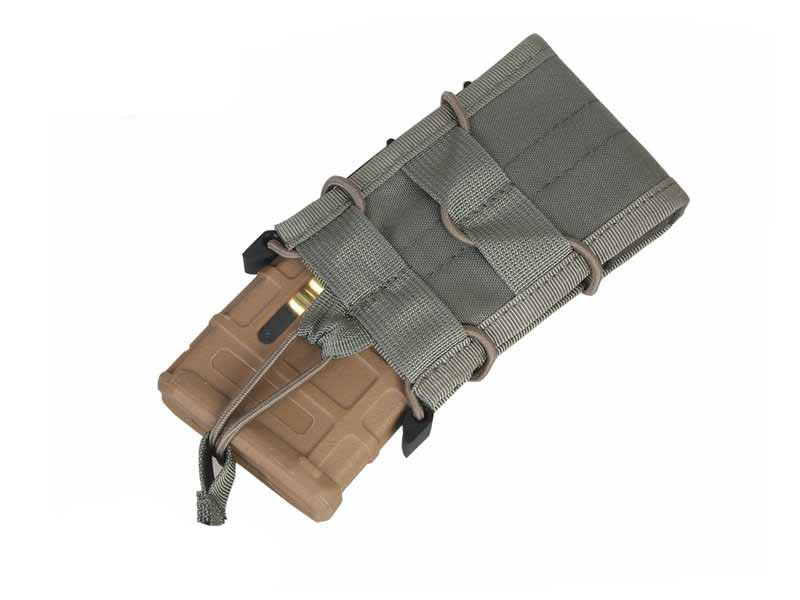 Porta Magazine Emerson MOLLE M4 (Tacos/Kydex) - Cor: Cinza  - MAB AIRSOFT