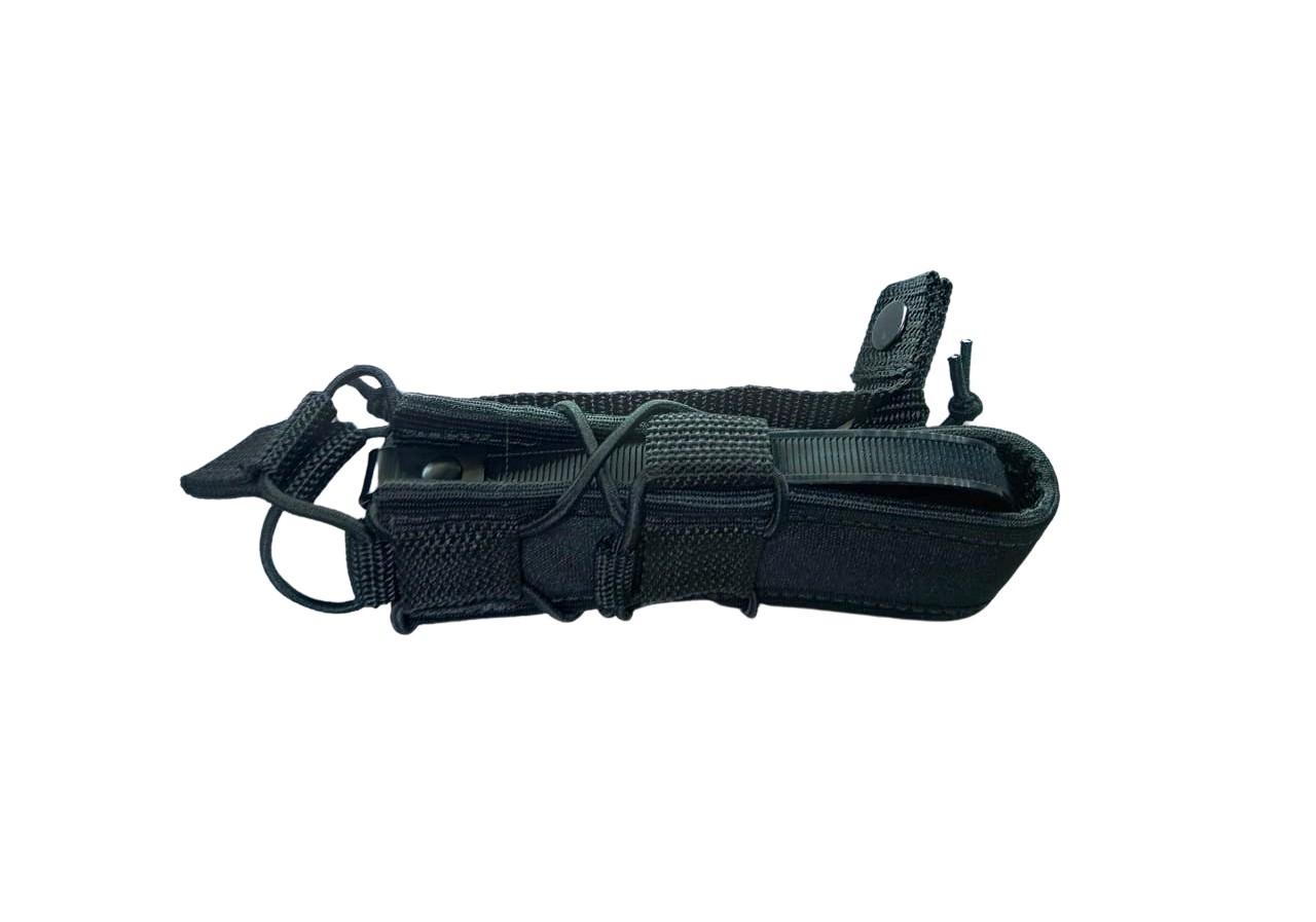 Porta Magazine MOLLE Pistola LONGO - Cor: Preta /AN  - MAB AIRSOFT