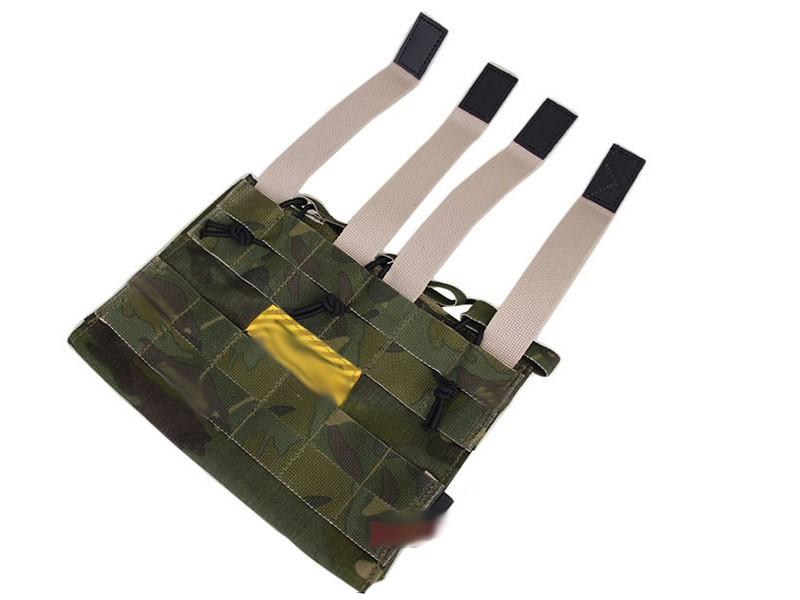 Porta magazine Triplo EMERSON ATACS FG M4/M16  - MAB AIRSOFT