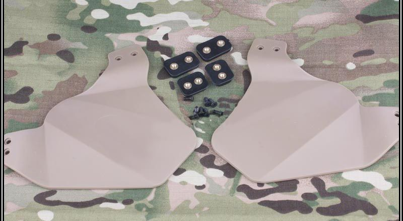 Protetor de Orelha para Capacete Emerson - Cor: TAN
