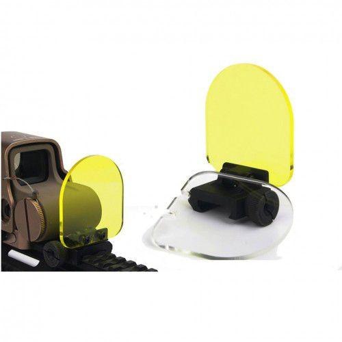 Protetor Para Red Dot rebatível com duas lentes  - MAB AIRSOFT