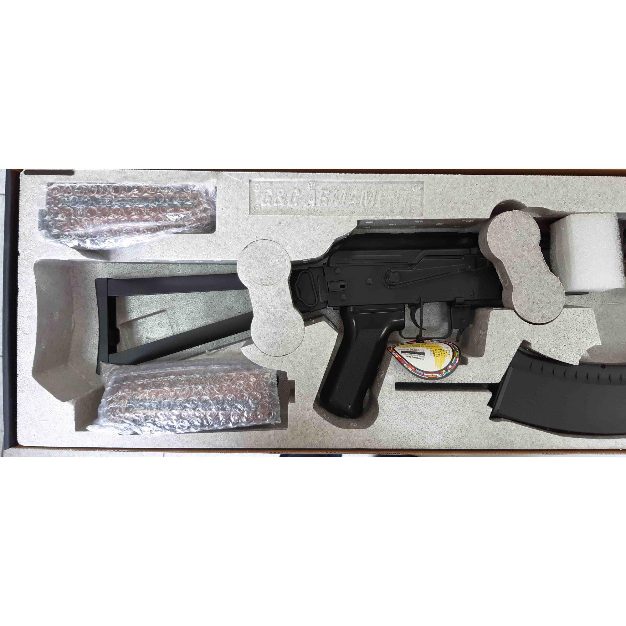 Rifle Airsoft AEG AK GK74 - G&G Full Metal - Calibre 6 mm  - MAB AIRSOFT