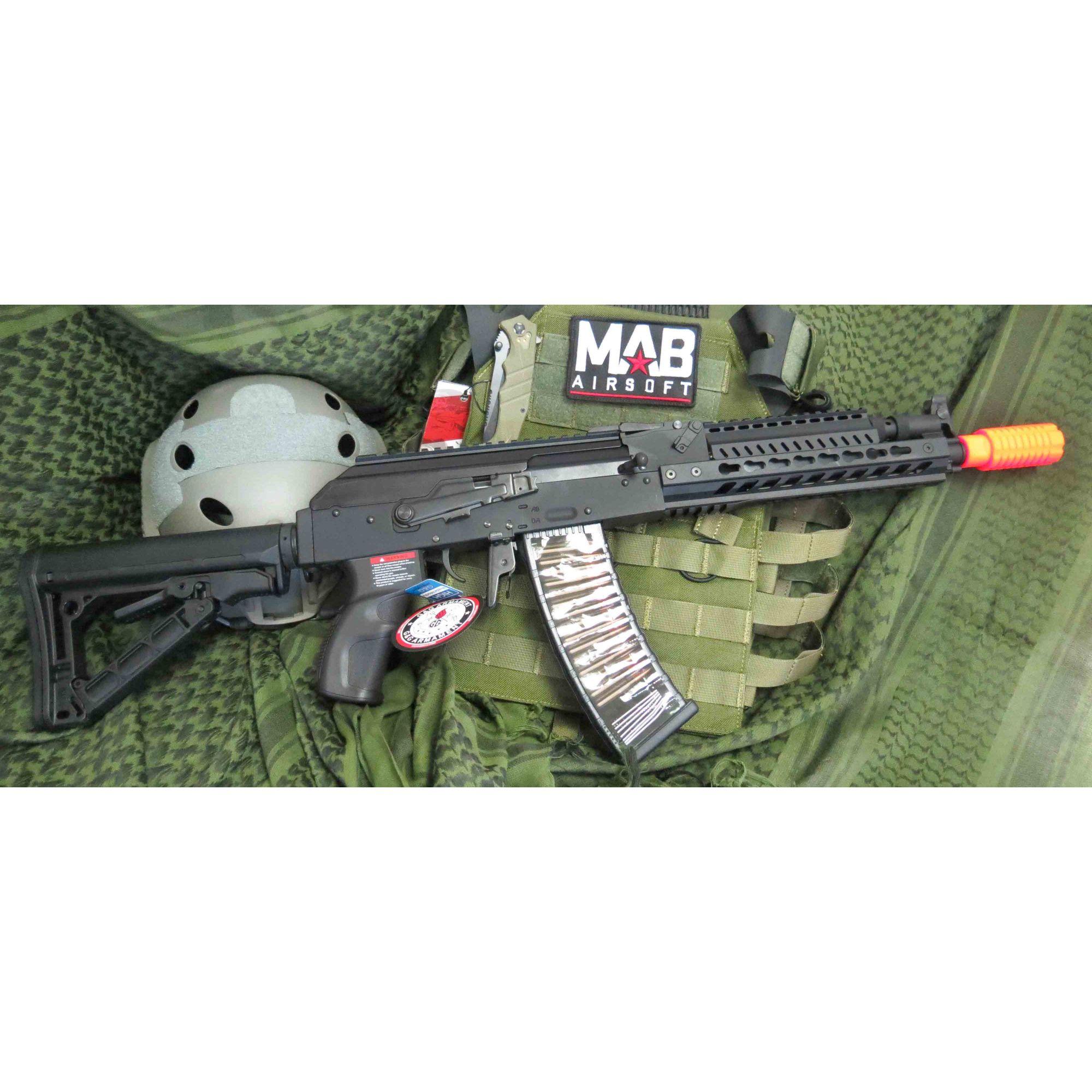 Rifle Airsoft AEG G&G AK RK74-E