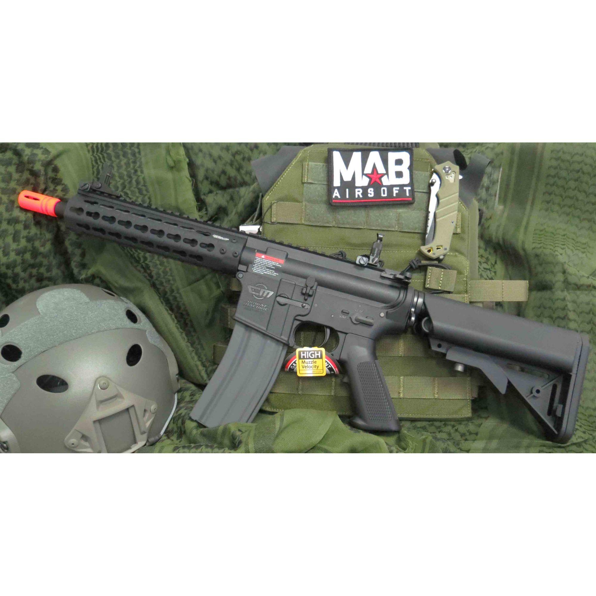 Rifle Airsoft AEG G&G M4 CM15 KR - CQB 8.5