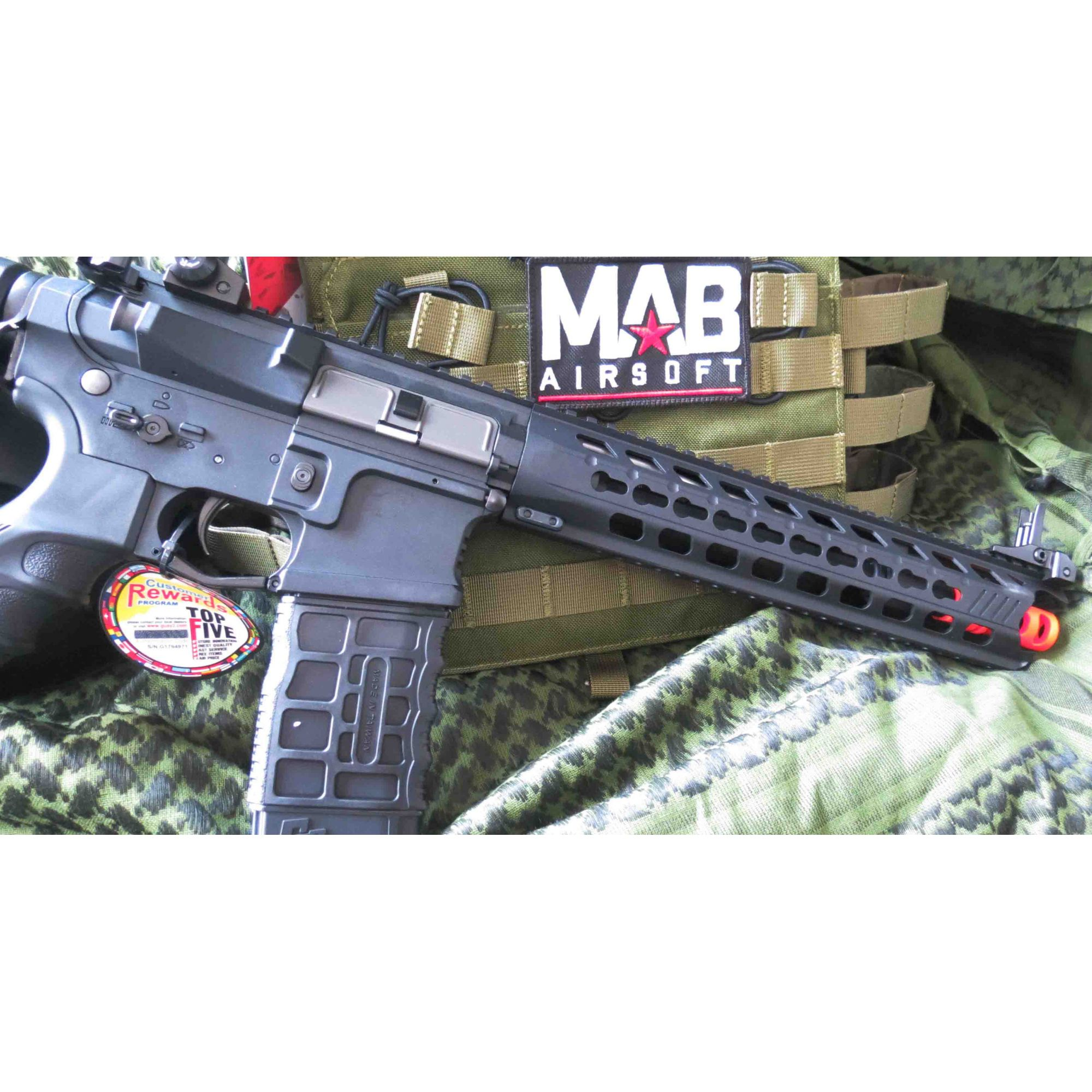 Rifle Airsoft AEG G&G M4 Predator GC16 Full Metal