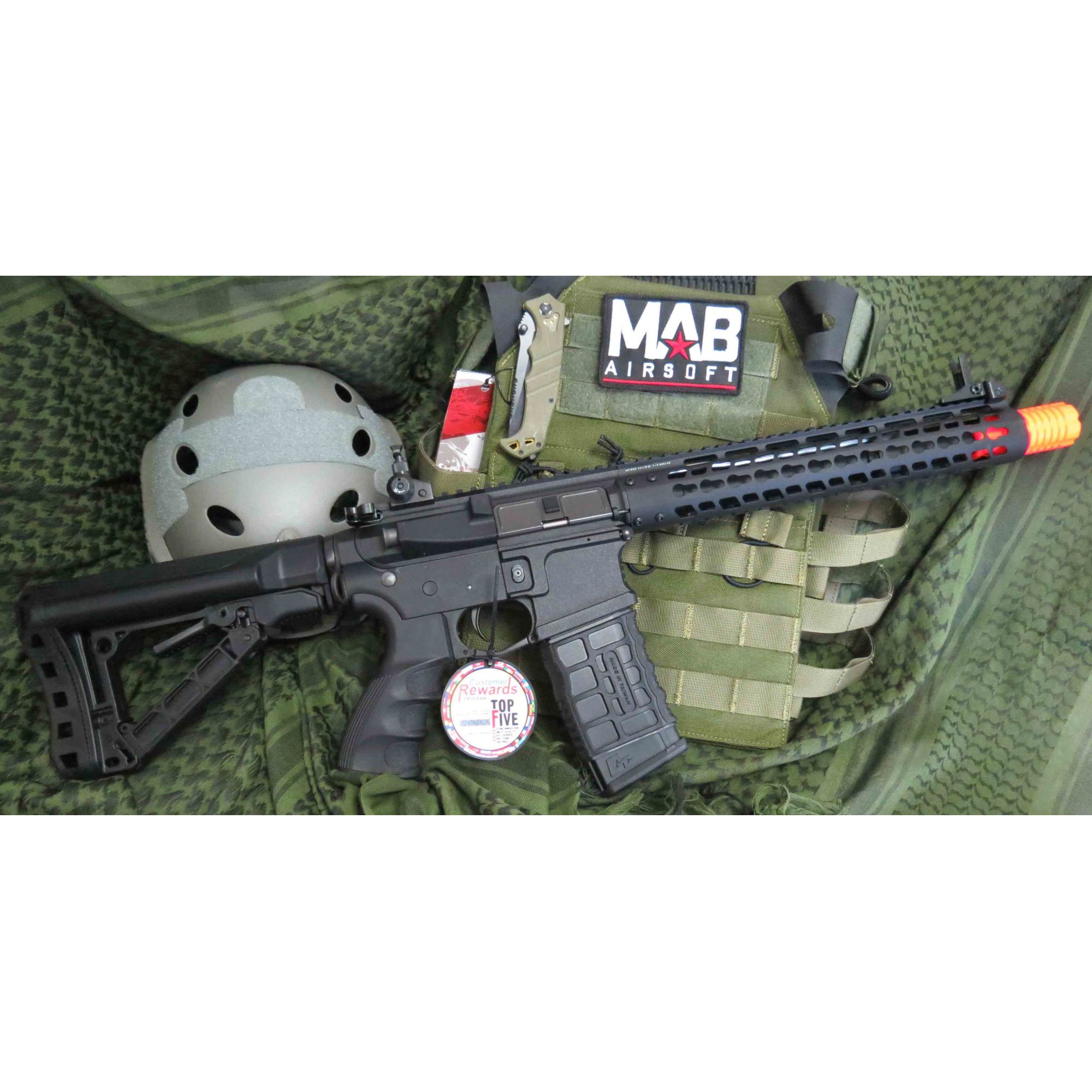 Rifle Airsoft AEG G&G M4 Wild Hog 12