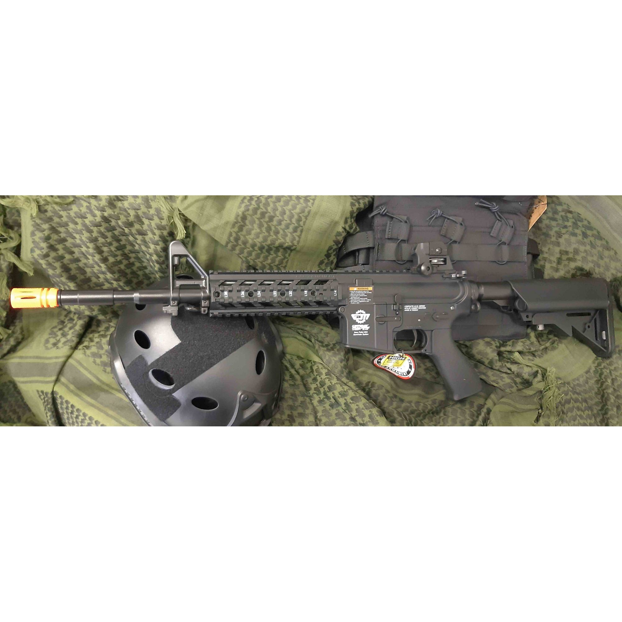 Rifle Airsoft AEG M4A1 CM16 Raider L - G&G -  Calibre 6 mm